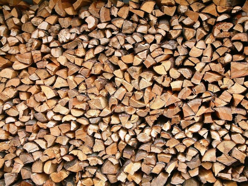 Download Madeira empilhada foto de stock. Imagem de ambiente, floresta - 53962