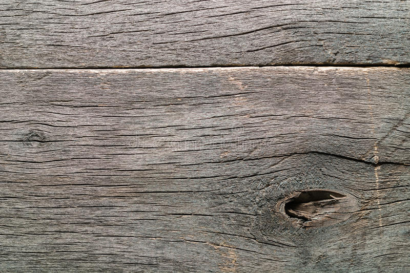 Madeira grosseira atada rachada podre resistida velha foto de stock