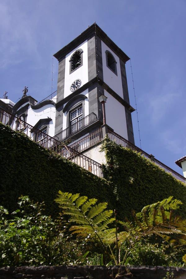 Madeira, a igreja de Nossa Senhora fotos de stock