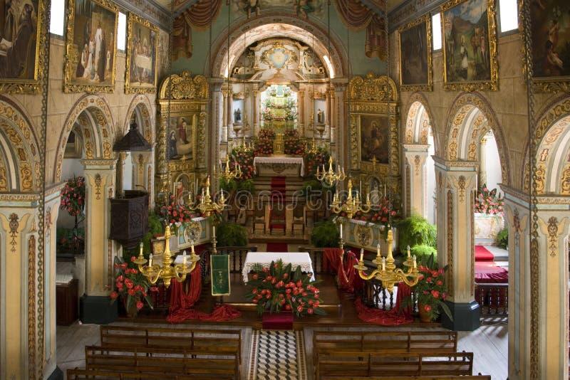 Madeira - igreja de Vicente do Sao fotografia de stock royalty free