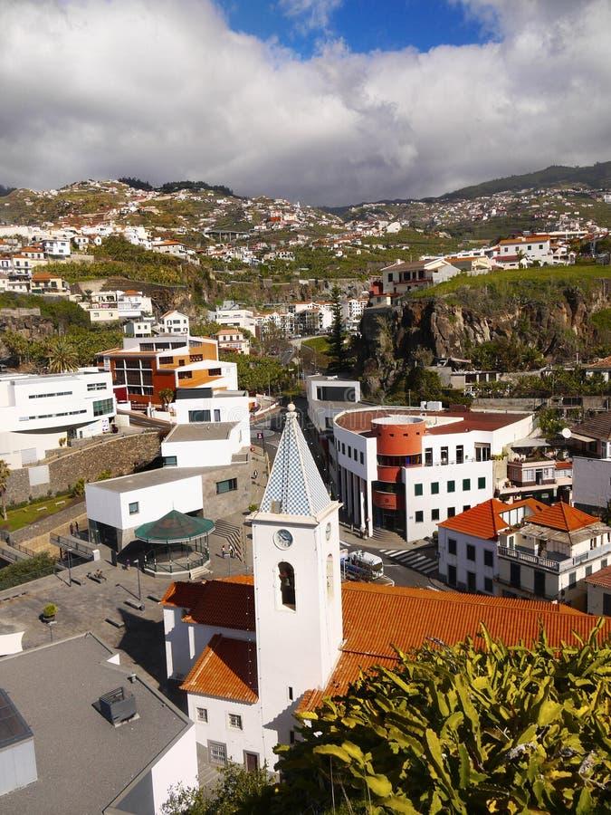 Madeira-Insel, Südküste, Camara de Lobos, Portugal stockbild