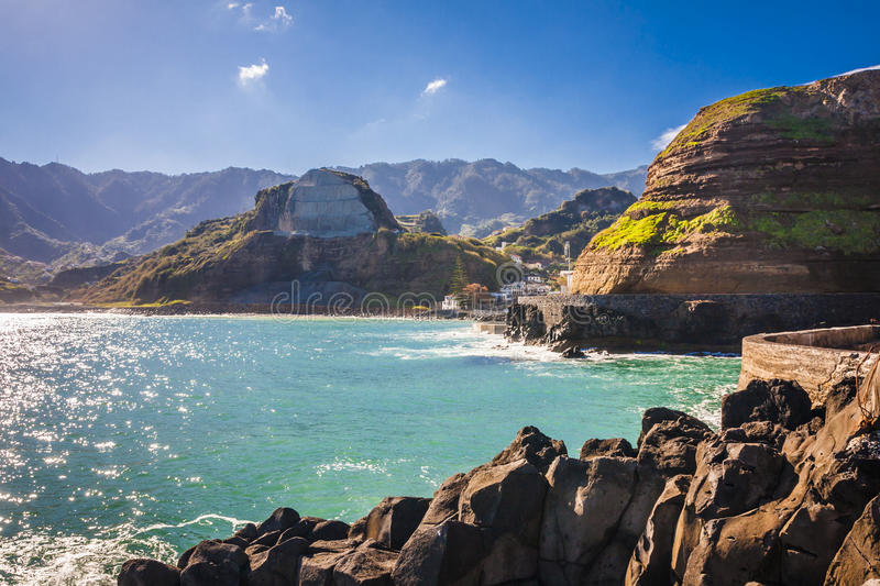 Madeira island, from Faial village royalty free stock photo