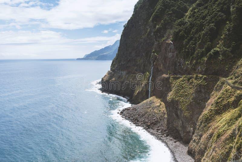 Madeira Island landscape royalty free stock image