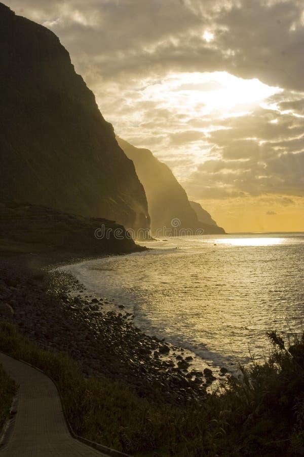 Madeira landscape stock images