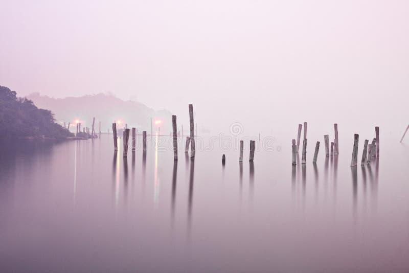 Download Madeira na água foto de stock. Imagem de paisagem, holandês - 12811610