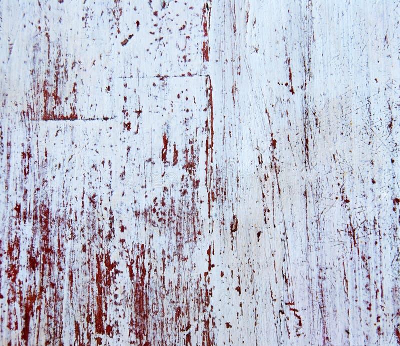 Madeira pintada velha - textura da parede fotos de stock royalty free