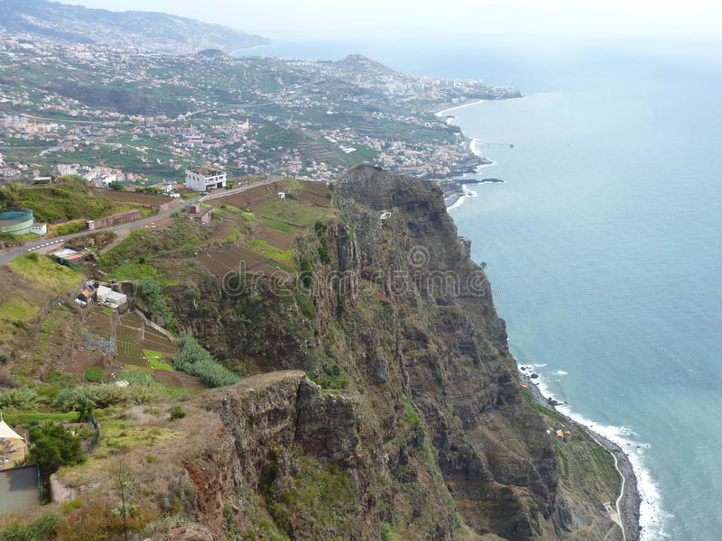 Madeira Poirtugal stock photo