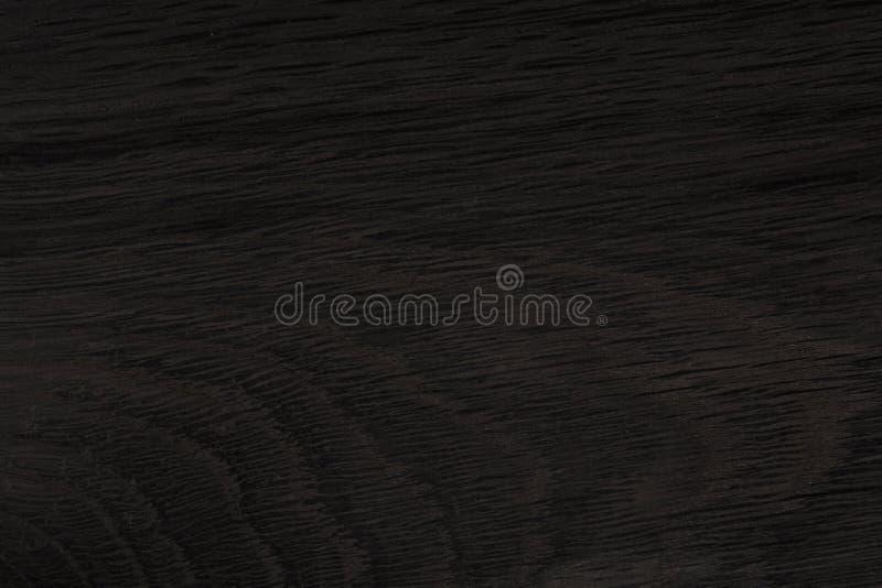 Madeira preta Textura cara do ébano Textura do carvalho velho natutal foto de stock royalty free