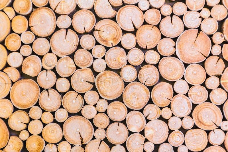 A madeira registra o fundo imagens de stock