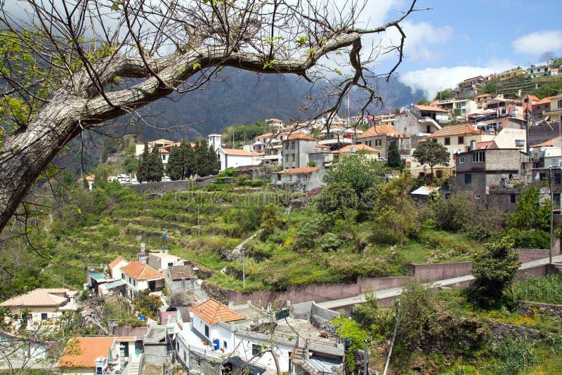 Madeira, Tal der Nonnen, Curral DAS Freiras stockfotografie