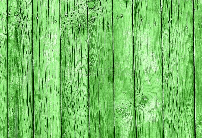 Madeira verde pranchas textured Fundo de madeira para St Patricks D imagens de stock