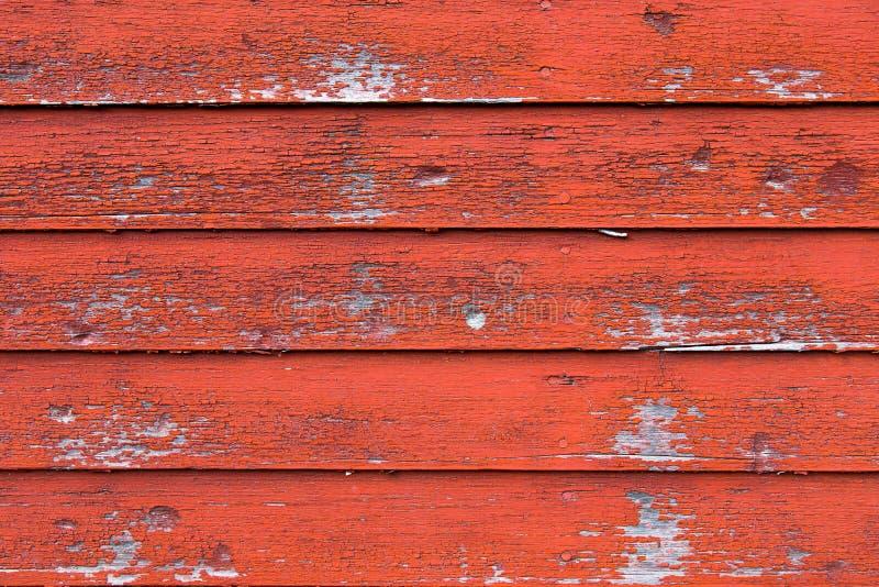 Madeira vermelha do celeiro foto de stock