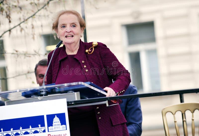 Madeleine Albright photographie stock libre de droits