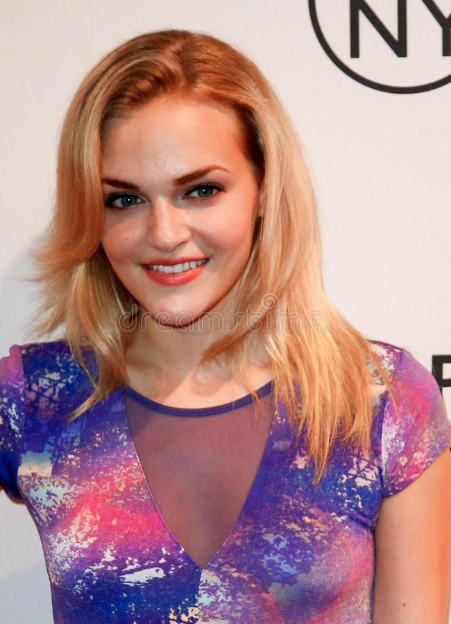 Madeline Brewer. NEW YORK-OCT 2: Actress Madeline Brewer attends the 'Orange Is the New Black' panel during 2013 PaleyFest: Made In New York at The Paley Center royalty free stock photo