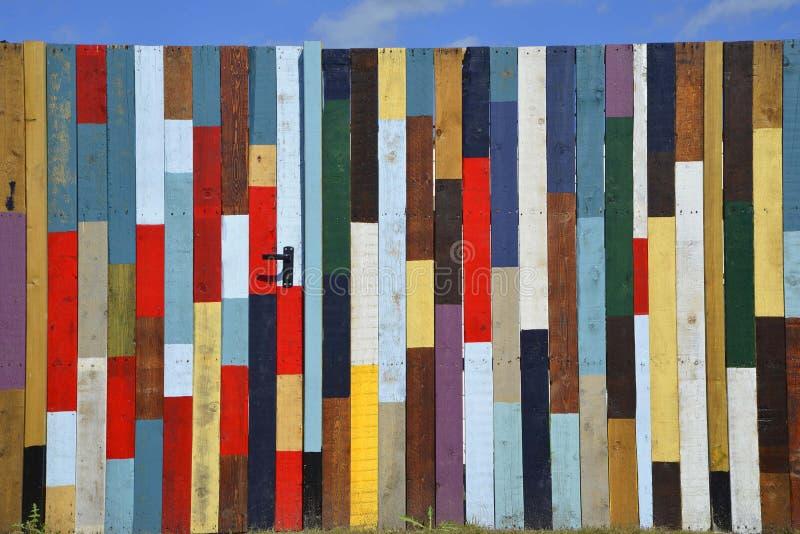 Madera coloreada fotos de archivo