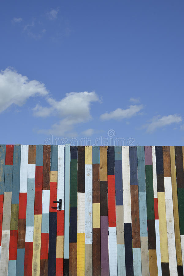 Madera coloreada imágenes de archivo libres de regalías