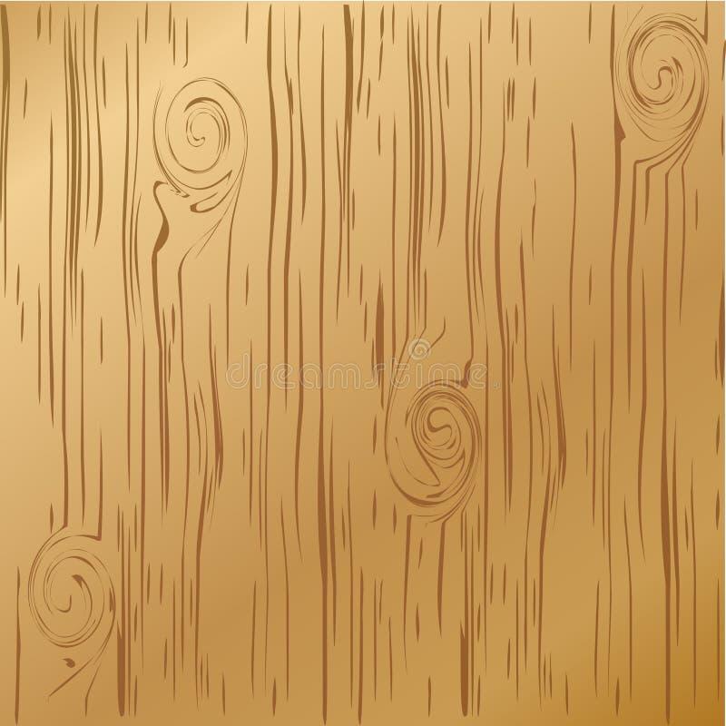 Madera de la textura ilustración del vector