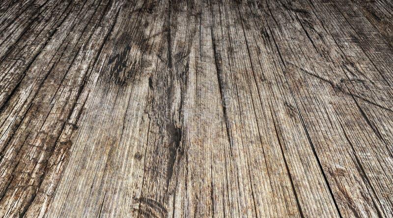 Madera de pino anudada agrietada estropeada resistida vieja de alta resolución imágenes de archivo libres de regalías