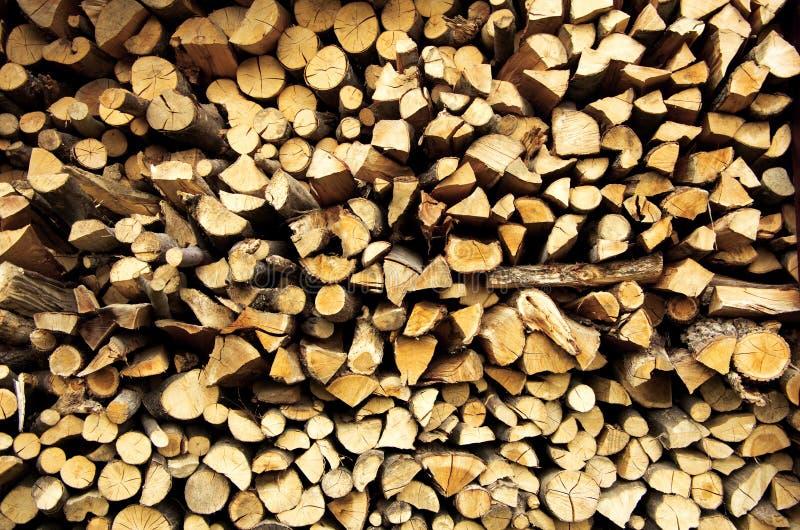 Madera del fuego foto de archivo libre de regalías