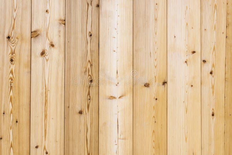 Madera marrón clara con el grano de madera fotografía de archivo libre de regalías