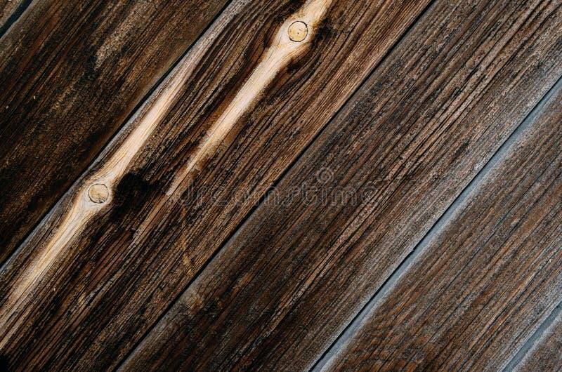Madera marrón de la textura imágenes de archivo libres de regalías