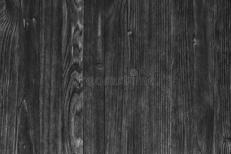 Madera negra vieja Pizarra Textura de madera melanc?lica del Grunge oscuro del fondo foto de archivo libre de regalías