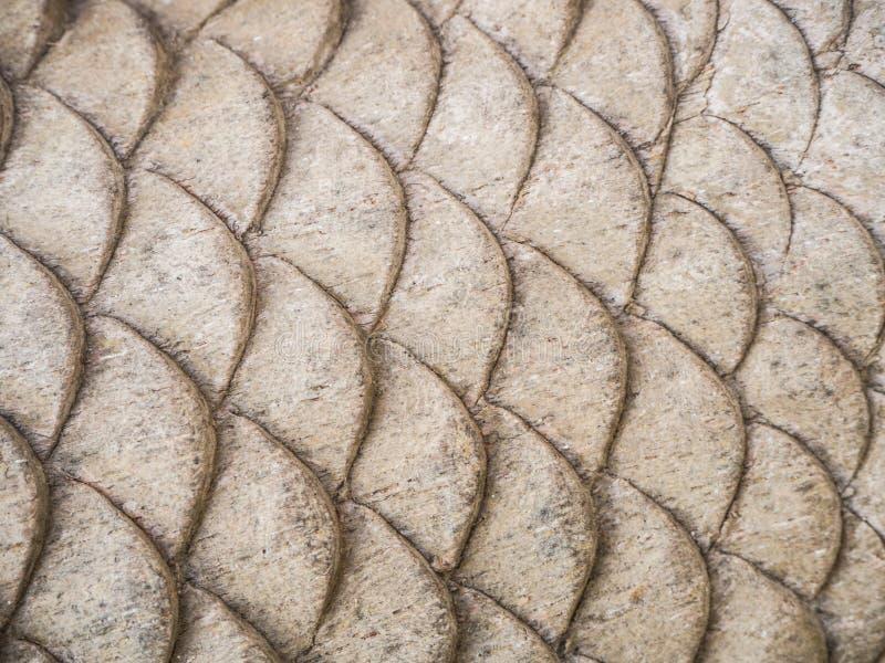 Madera que talla forma de los pescados fotografía de archivo libre de regalías