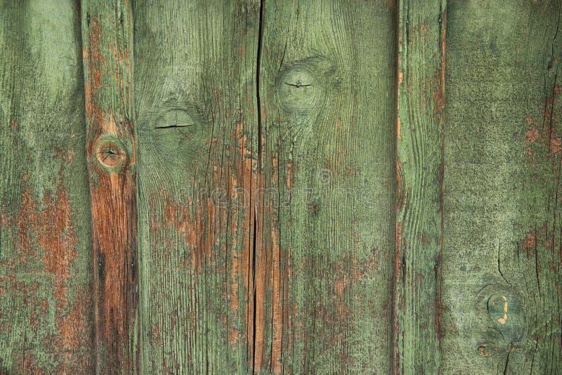 Madera verde resistida imágenes de archivo libres de regalías