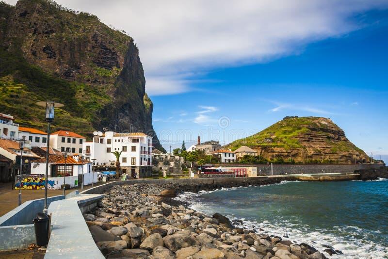 Maderia island, from Faial village stock photos