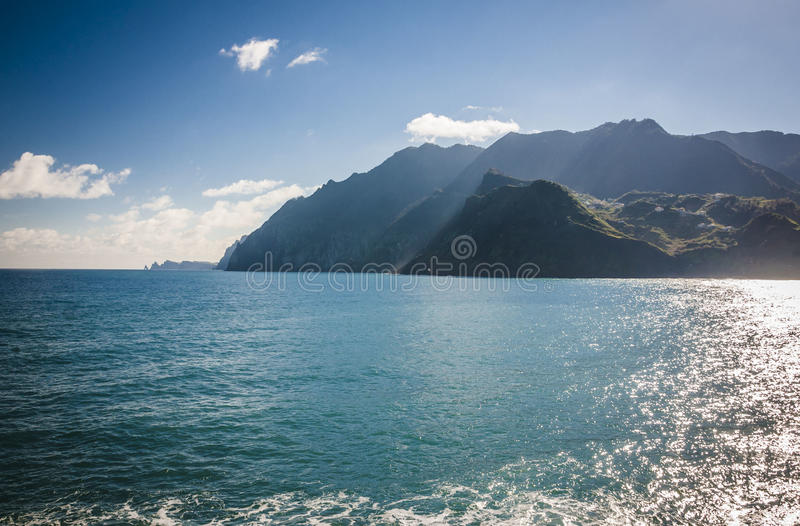 Maderia island, from Faial village royalty free stock photo