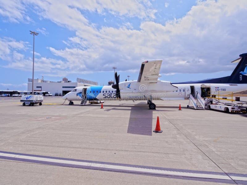 Madery lotnisko zdjęcie royalty free