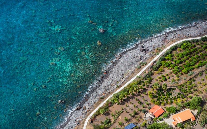 Madery wybrzeże zdjęcia stock