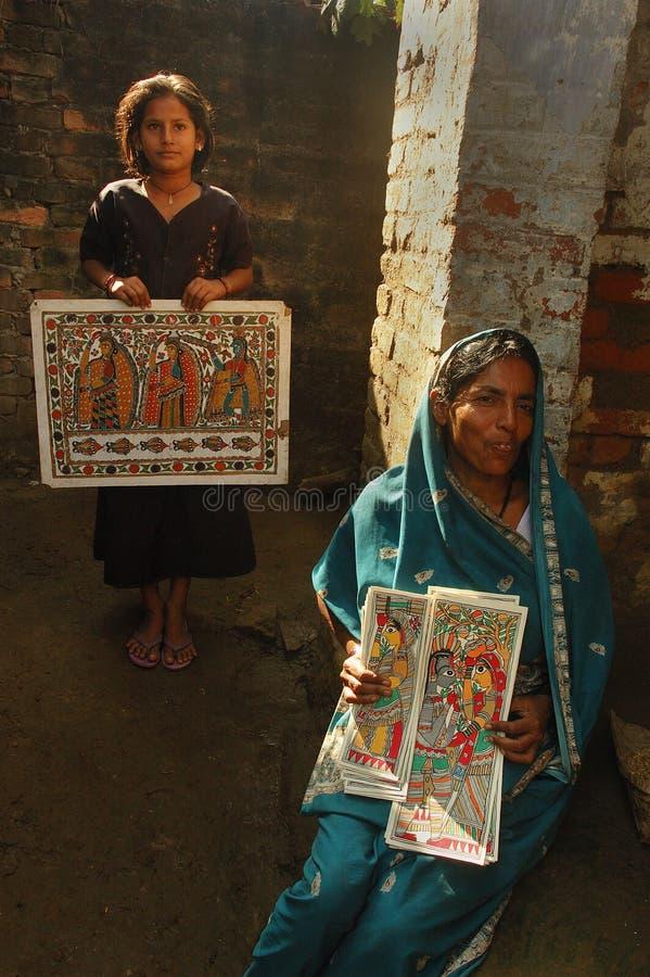 Download Madhubani Painting In Bihar-India Editorial Stock Photo - Image: 10622723