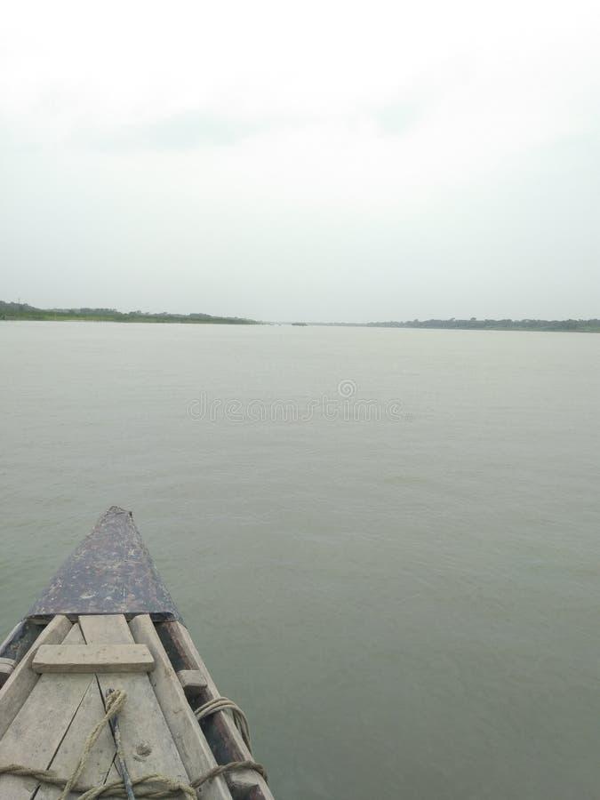 Madhumati河 免版税图库摄影