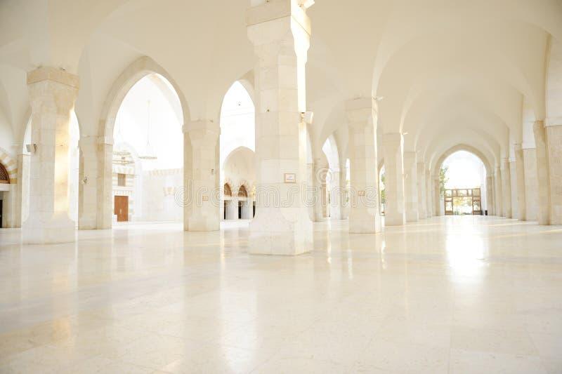 Madina Moschee leer stockbilder