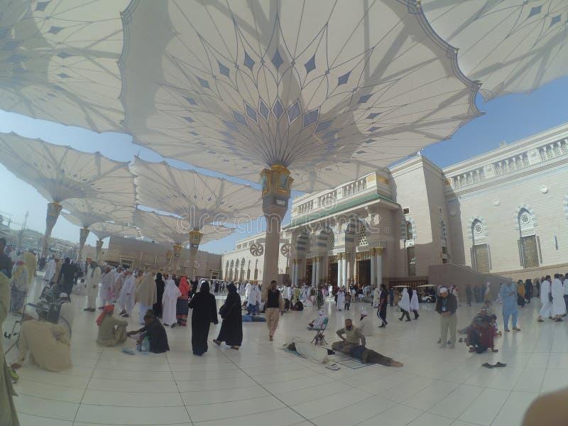 Madinah Saudi-Arabien stockbild
