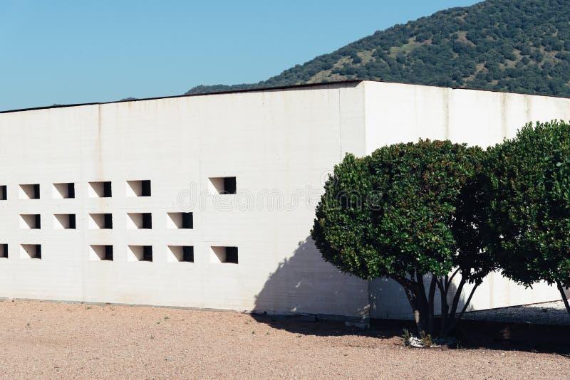 Madinat Al Zahara博物馆在科多巴 免版税图库摄影