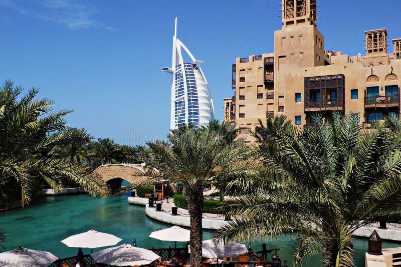 Madinat jumeirah-Ντουμπάι στοκ φωτογραφίες με δικαίωμα ελεύθερης χρήσης