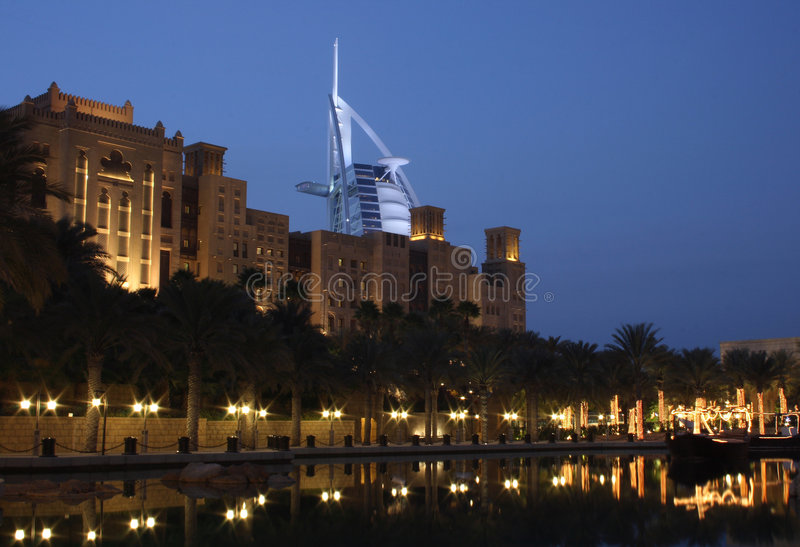 madinat jumeirah obraz royalty free