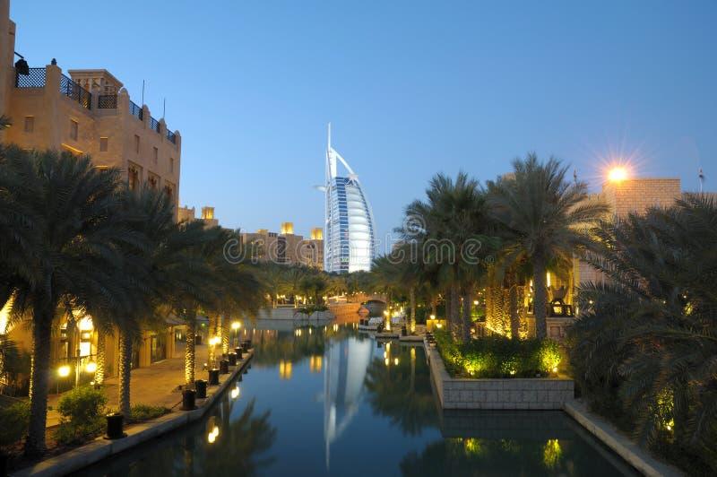 Madinat Jumeirah, Dubaï photographie stock