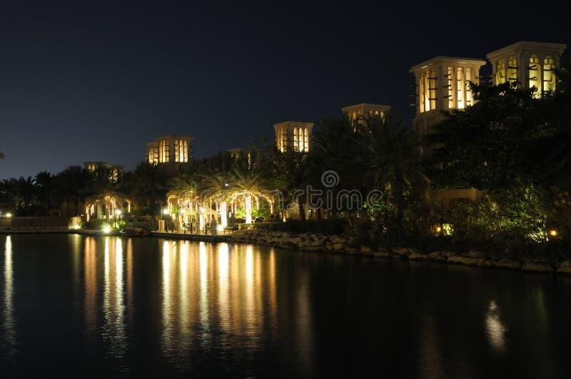 Madinat Jumeirah, Dubaï images stock