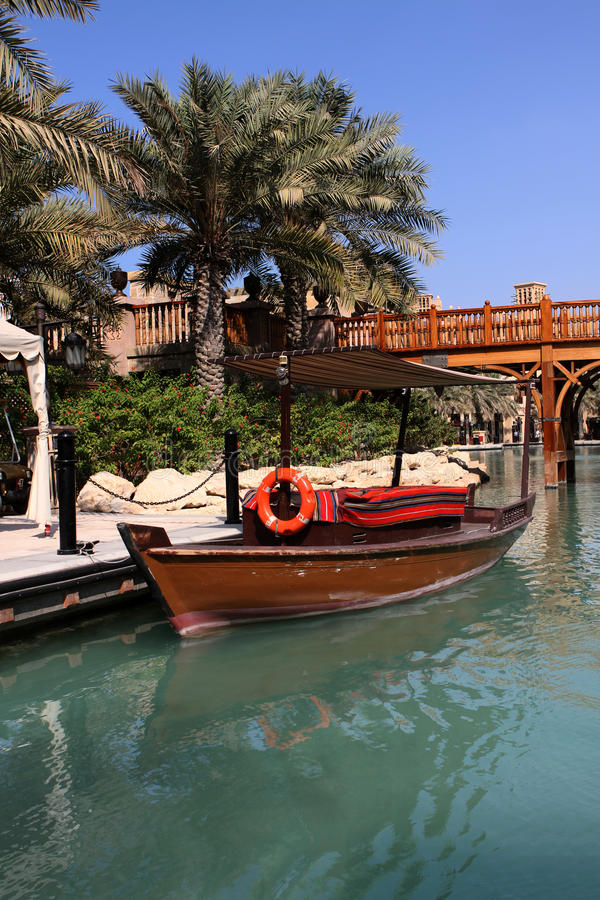 Download Madinat Jumeirah in Dubai stock photo. Image of resort - 18886704