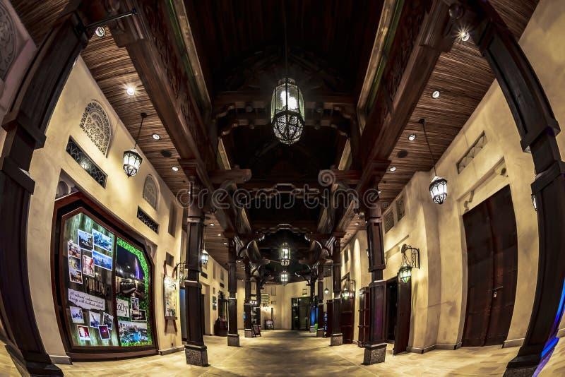 Madinat Jumeirah Souk royaltyfria foton