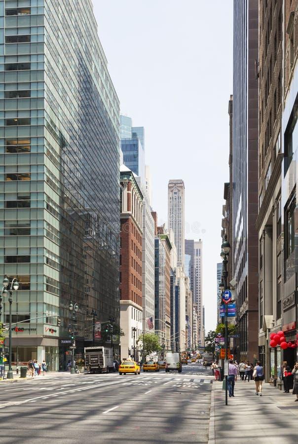 Madison Avenue à New York, éditorial photographie stock libre de droits