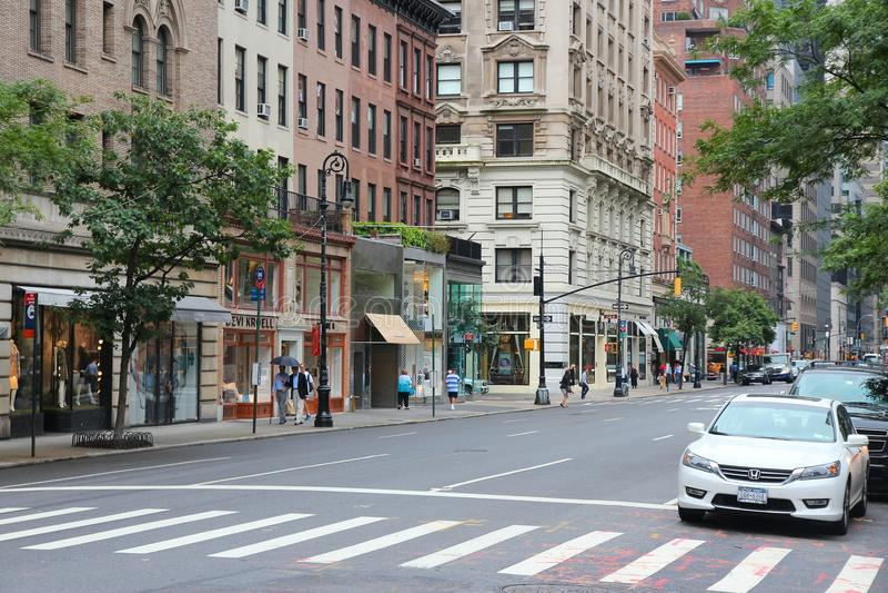 Madison Avenue fotografering för bildbyråer