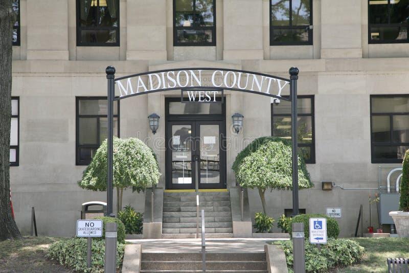 Madison okręg administracyjny Zachodni fotografia stock