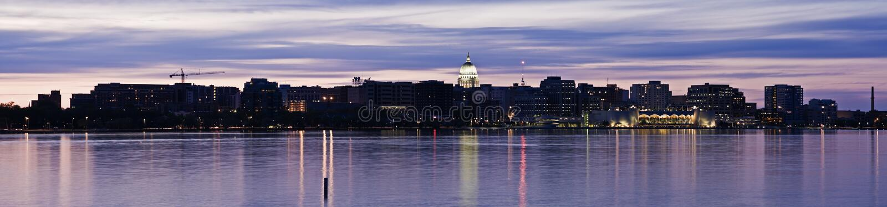 Madison panoramica immagine stock