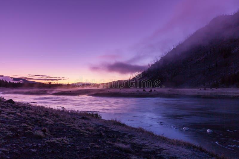 Madison River Sunrise foto de stock