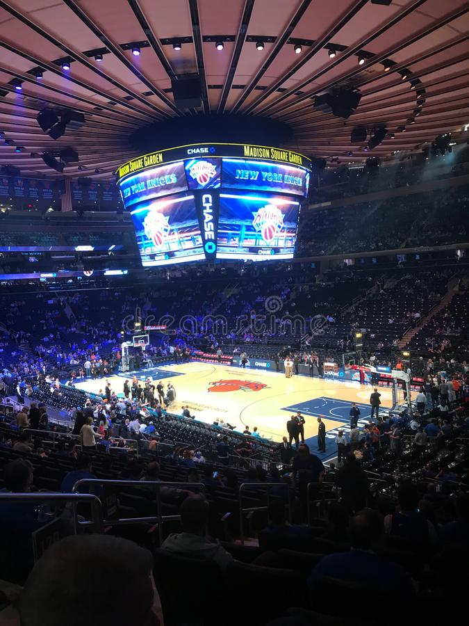 Madison Square Garden fotografie stock libere da diritti