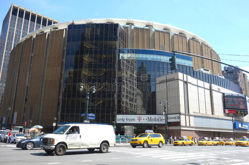 Madison Square Garden fotos de stock